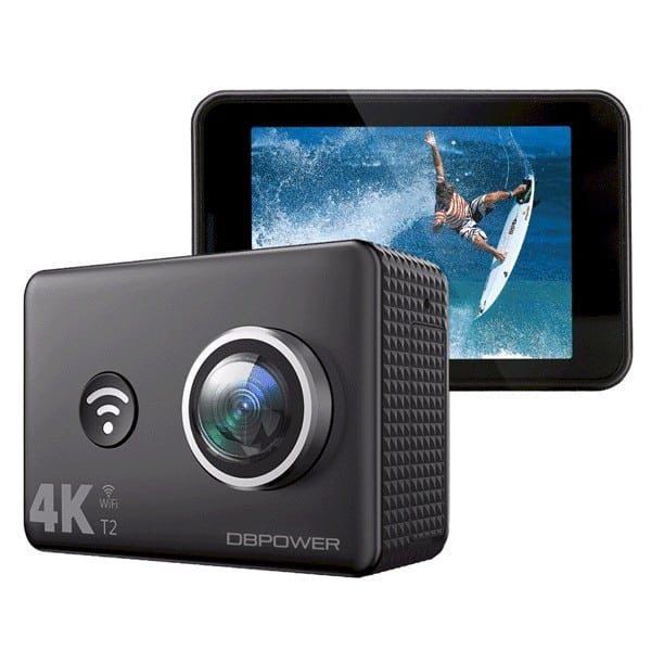 DBPOWER T2 4K Action Camera WiFi