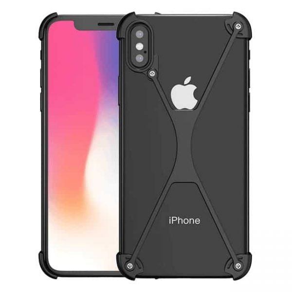 iPhone X Armor-X metal bumper