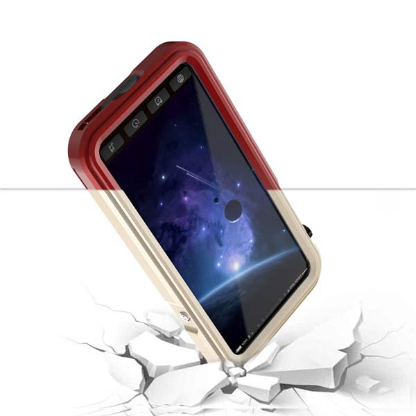 Aqua IP68 Waterproof Case IPhone X