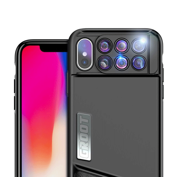 new product e93d4 5547e 6 In 1 iPhone X Camera Lens Case