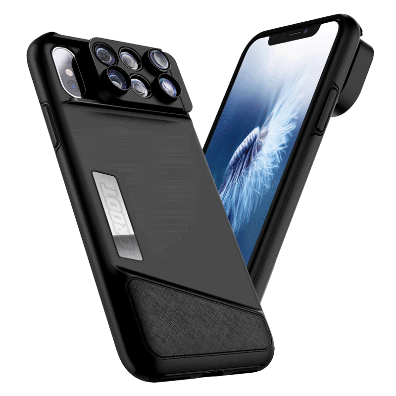 big sale ebbc6 7de65 6 In 1 iPhone XS Max Camera Lens Case