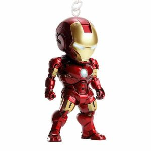 iron man toy figure keychain