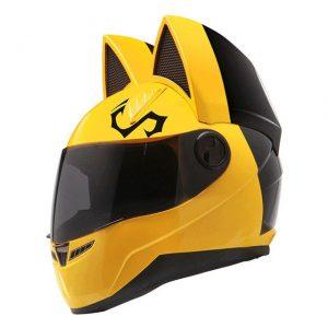 neko helmet cat helmet nitrinos helmet cat ears motorcycle helmet