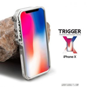 Trigger iPhone X Bumper Case mechanical armor