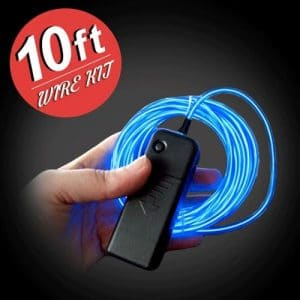 Light Mode EL Wire Kit - 10 FOOT