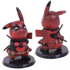 deadpool pikachu figure