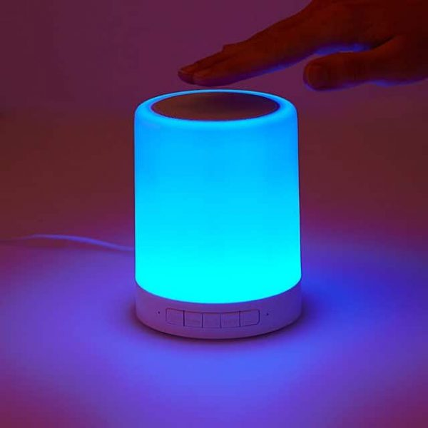 Color Changing Mood Light Speaker Touch Control