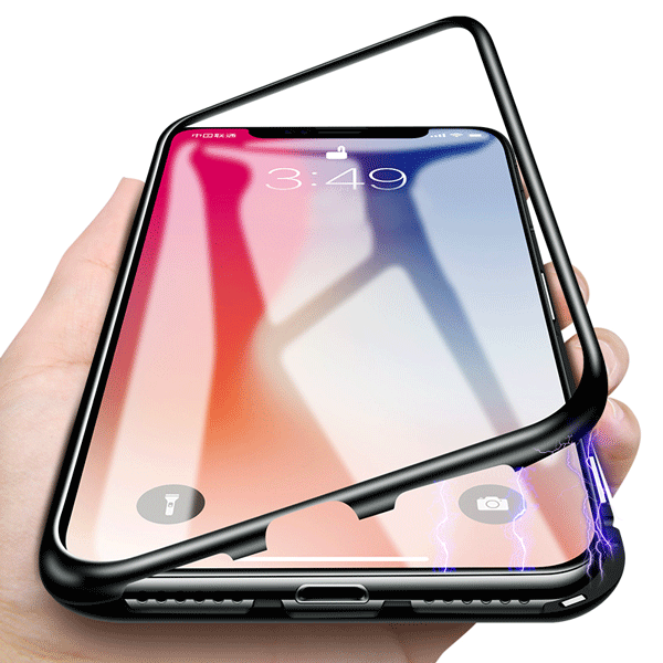 iPhone Magnetic Case - With Adsorption Mechanism