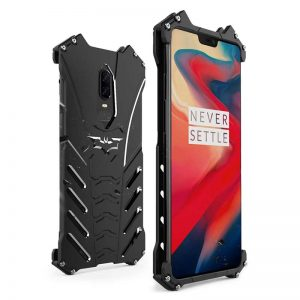 OnePlus 6 Batman Armor - 1+6 Full Metal Jacket Bat Armor