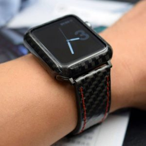 Carbon Fiber Apple Watch Band Carbon Fiber Case