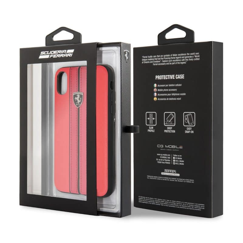 Iphone Xs Ferrari Case Officially Licensed Ferrari Case By Cg Mobile