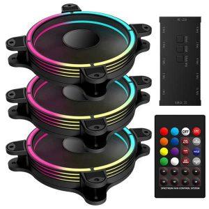 T.B. RGB 4 Ring HALO RGB Fans