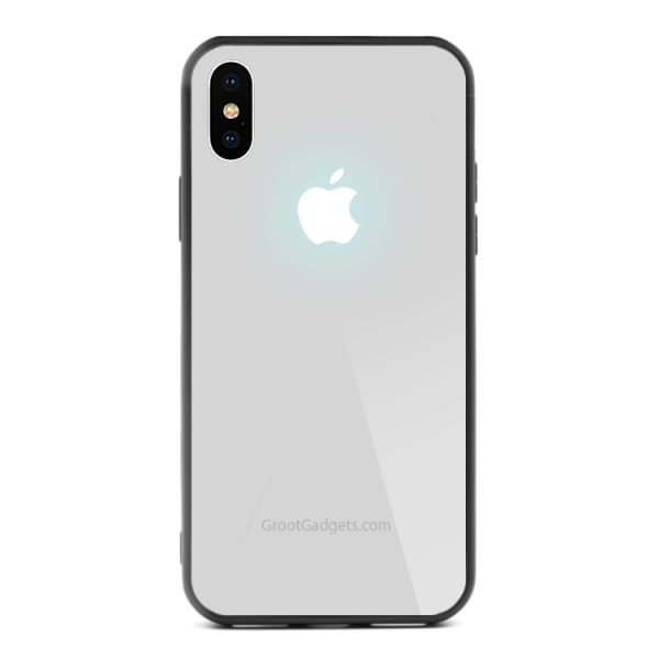 Glowing Apple Logo iPhone XR LED Case