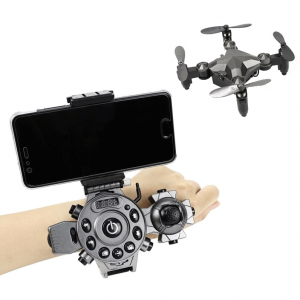 Stealth Foldable Mini Drone Watch Quadcopter Camera