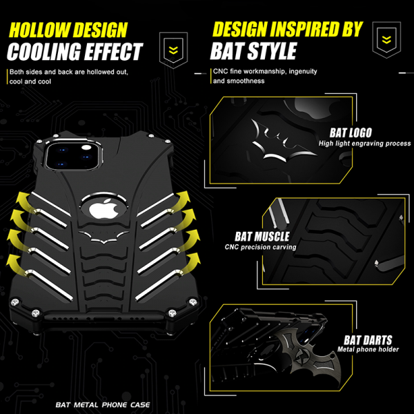 Batman iPhone 11 Pro Max metal case