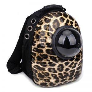 cat bubble backpack leopard
