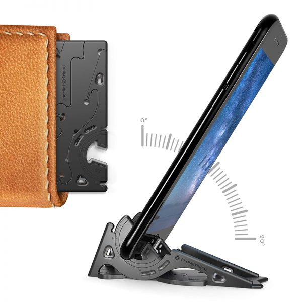 Pocket Phone Tripod Foldable Card Tool
